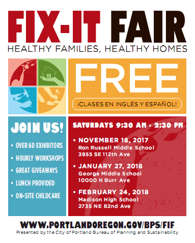 Fix-It Fair