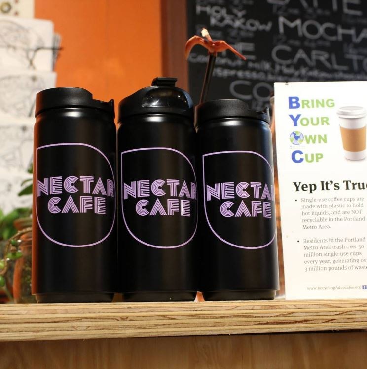 Nectar Cafe Cups