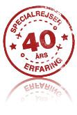Specialrejser i 40 år