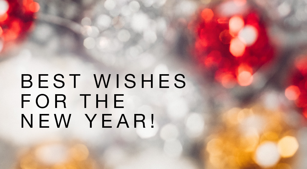 Best wishes for the new year!