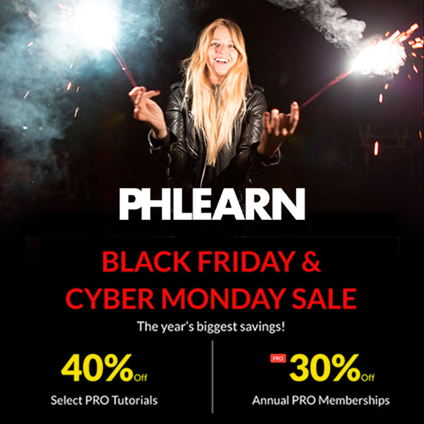 Phlearn Black Friday Sale