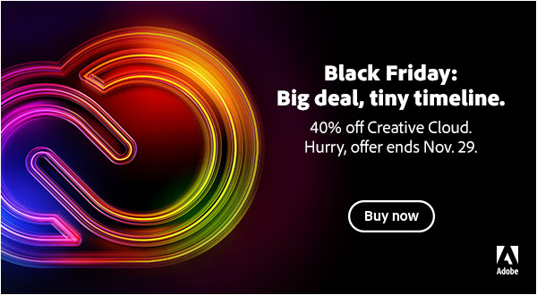 Adobe Black Friday