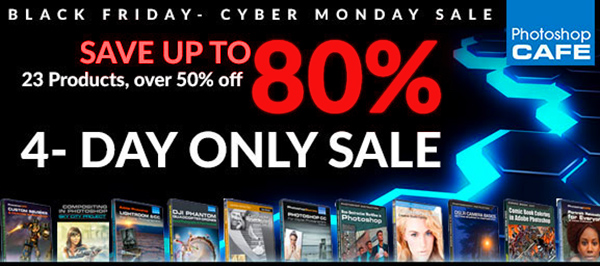 PhotoshopCafe Black Friday & Cyber Monday sale