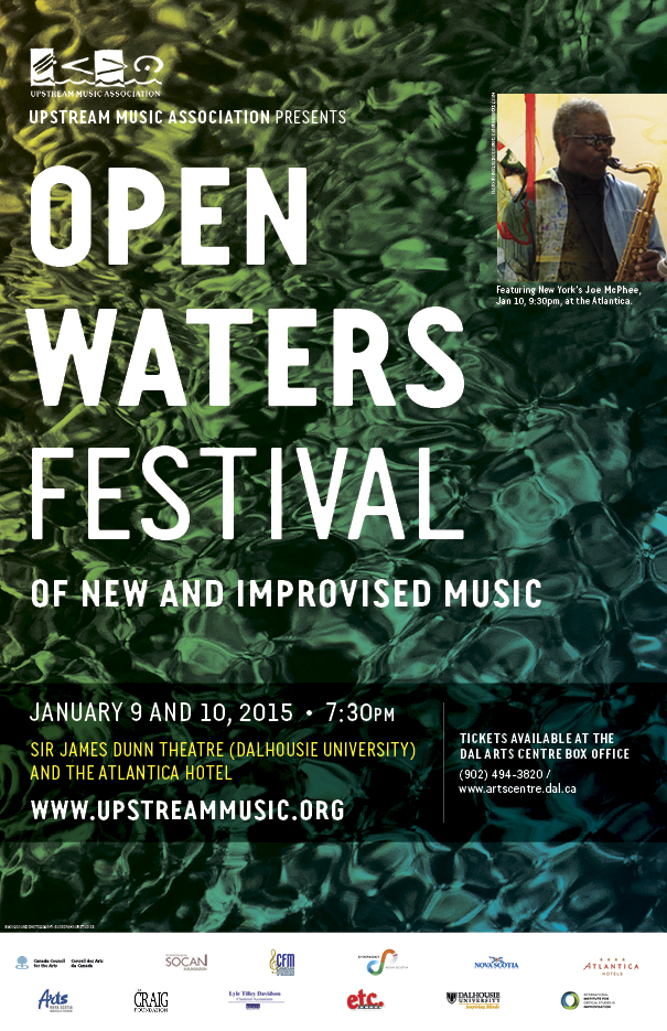 Open Waters Festival poster