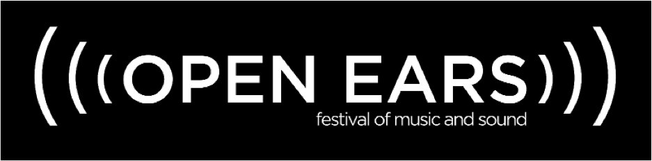 Open Ears Festival of Music and Sound logo.