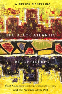 "Colour photograph of the cover of Winfried Siemerling's ""The Black Atlantic Reconsidered,"""