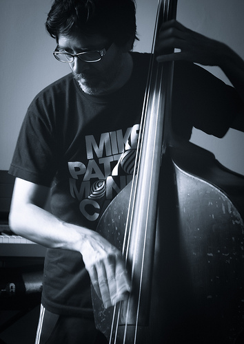 Black and white photo of Pablo Vazquez.