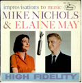 Picture of album titled High Fideltiy, showing images of Mike Nichols and Elaine May.