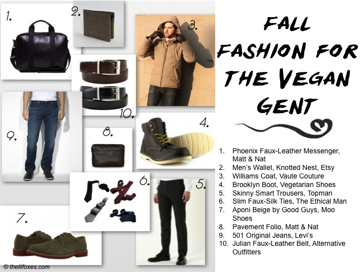 Fall Fashion for the Vegan Gent