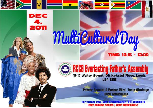 RCCG EFA Leeds Multicultural Day