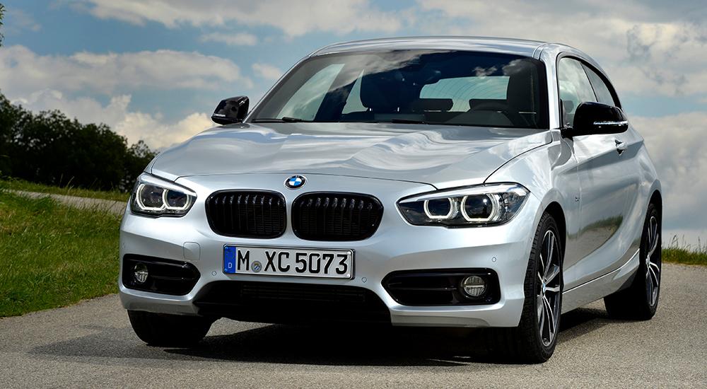 Ein silberner BMW Foto: BMW
