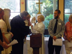 Grace, NMB, hold first baptism