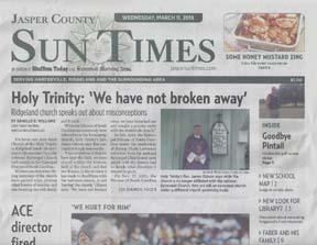 Jasper Sun Times Newspaper