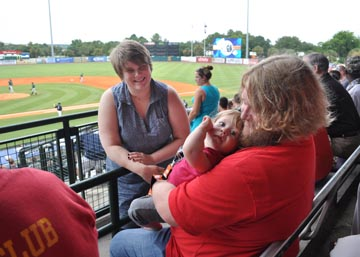 Diocesan Family at Riverdogs