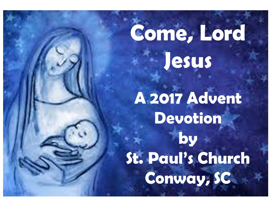 Advent Devotional sign up