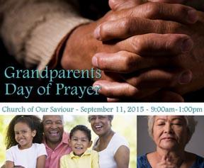 Grandparents at prayer
