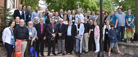 Diocesan delegation at ACNA Assembly