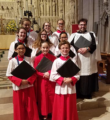 St. Helena's Youth Choristers