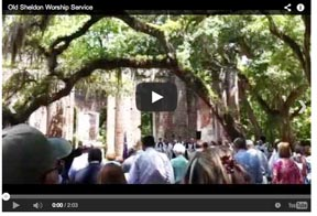Video of St. Helena's service at Old Sheldon