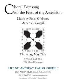OSA Choral Evensong Poster