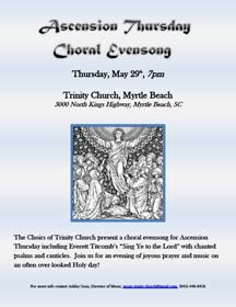 Choral Evensong Poster