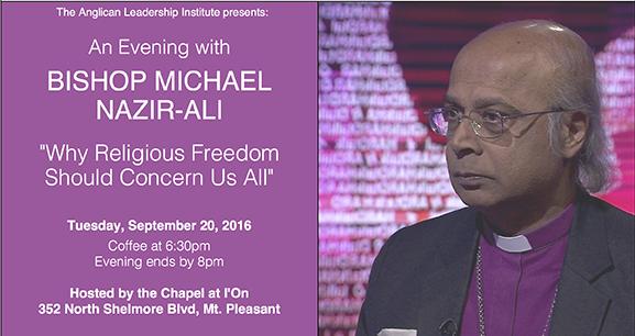 Evening with Bishop Michael Nazir-Ali