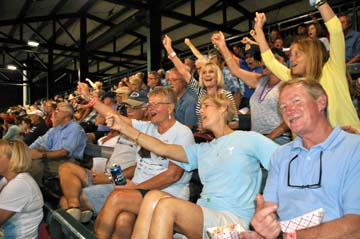 Riverdogs fans from the Diocese