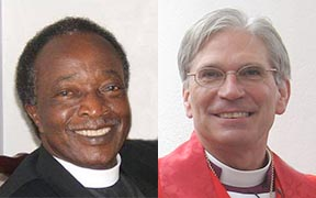Bishop Alphonza Gadsden and Bishop Mark Lawrence