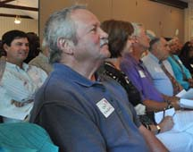 Group listening at The Future and Your Church Workshop