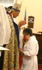 Martha Horn ordained to the Sacred Order of Deacons by Bishop Lawrence