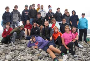 Irish Youth with Diocesan Youth