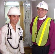 Seafarer with Bishop Lawrence