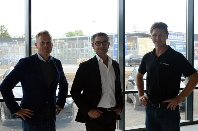 Billede: Bilhuset Nordsjælland er glade for samarbejdet med ABAS Miljøservice