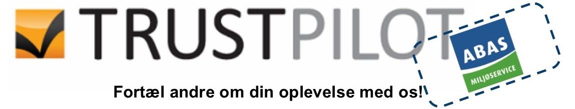 Fortæl andre om din oplevelse med os på Trustpilot.dk