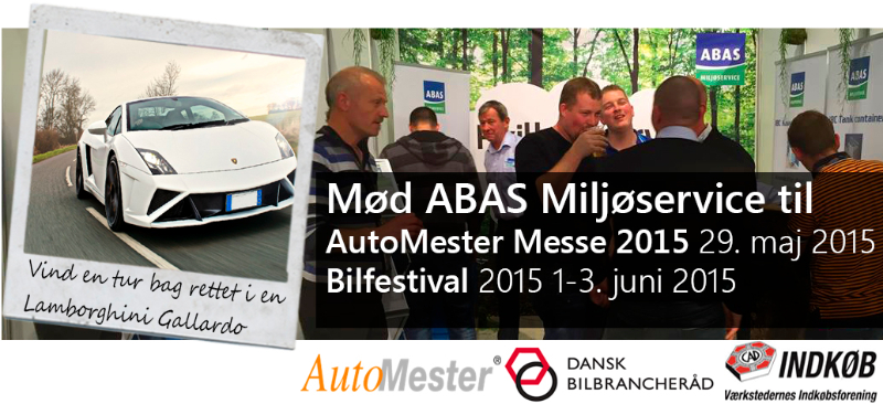 Mød os på AutoMester Messe og Bilfestival 2015