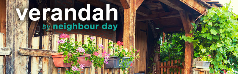 Verandah by Neighbour Day. Monthly e-Newsletter