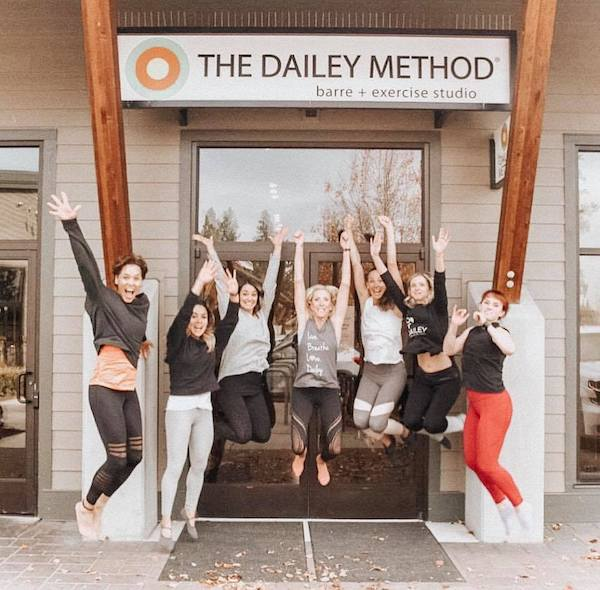 The Dailey Method - Bend Barre Studio Energy, Smiles & Congratulations!