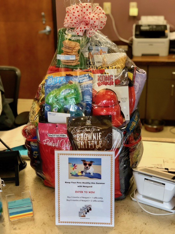 Brookswood Animal Clinic Raffle Gift Basket