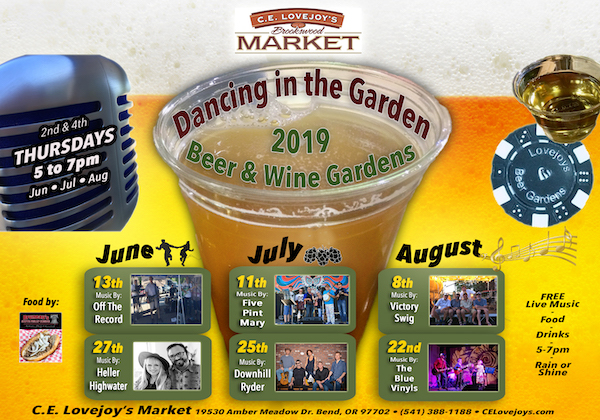 C.E. Lovejoy's 2019 Beer Gardens