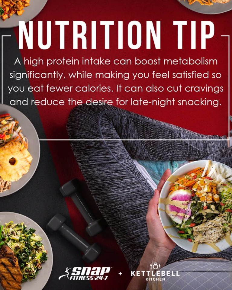 Snap Fitness Nutrition Tip