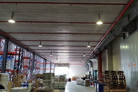 Extension logistic warehouse