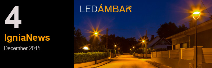 We manufacture environmentally friendly luminaires – the PC-Amber LED