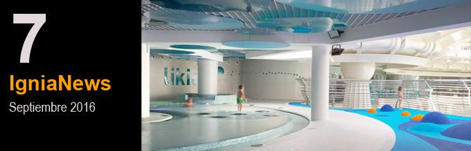 Likids, nuevo espacio termal para pequeños