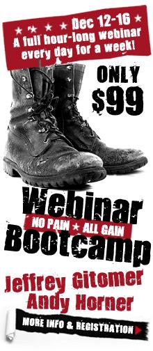 Jeffrey Gitomer's Webinar Boot Camp