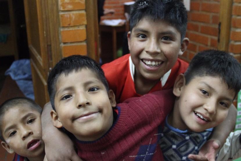 Niños de la calle en Casa San José