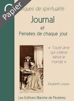 Journal Elisabeth Leseur