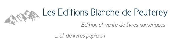 Newsletter des editions Blanche de Peuterey