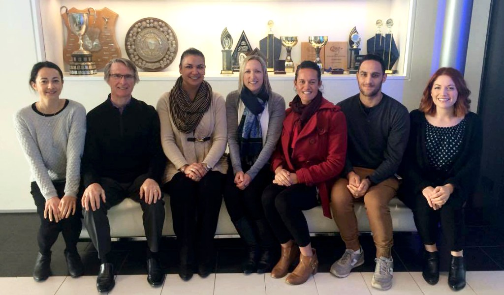 Photo of the Healthy Families Lower Hutt team.