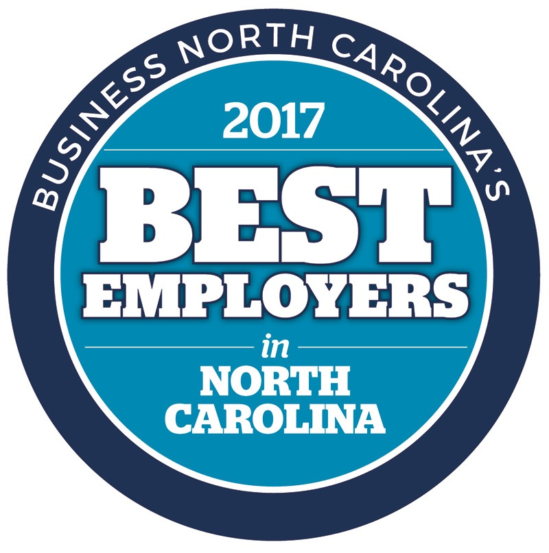 2017 Best Employers in NC