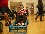 U.S. Battery Donation To The Screamin' Eagles Power Soccer Team